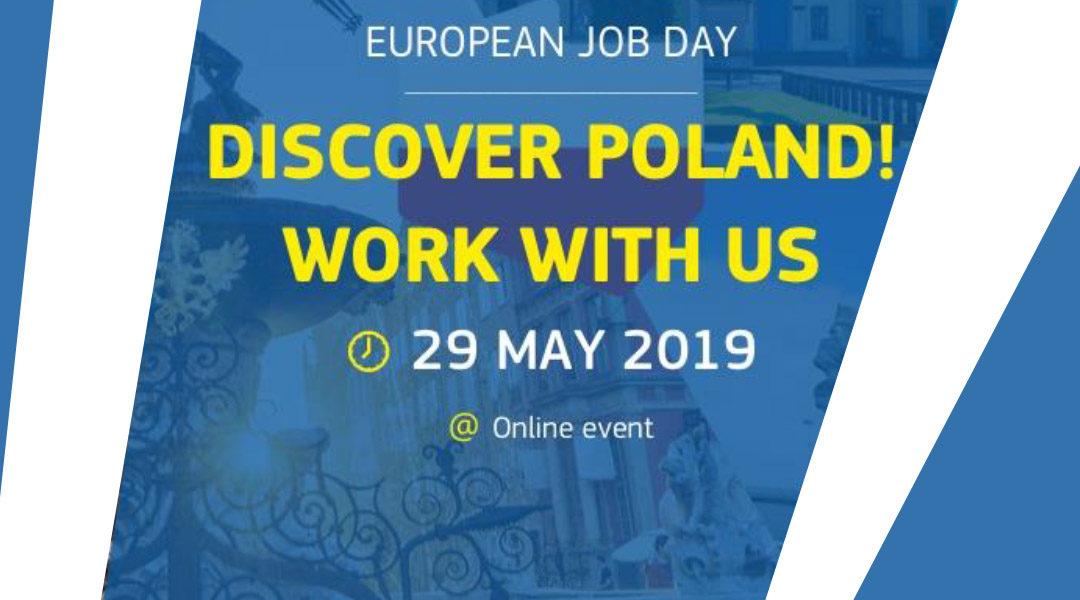 Wirtualne TARGI PRACY | Discover Poland! – Work with us
